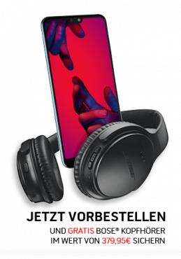Telekom Magenta Mobil M eff. 7€, mit MagentaEINS effektiv kostenlos! + Huawei P20 Pro + Bose QuietComfort 35 II Kopfhörer + 2x Ultimate Ears Wonderboom