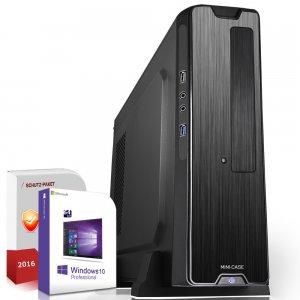 Multimedia-PC mit Ryzen-APU (Ryzen 2200G, 8GB RAM, 256GB SSD, Win 10) für 339,90€ [Systemtreff]