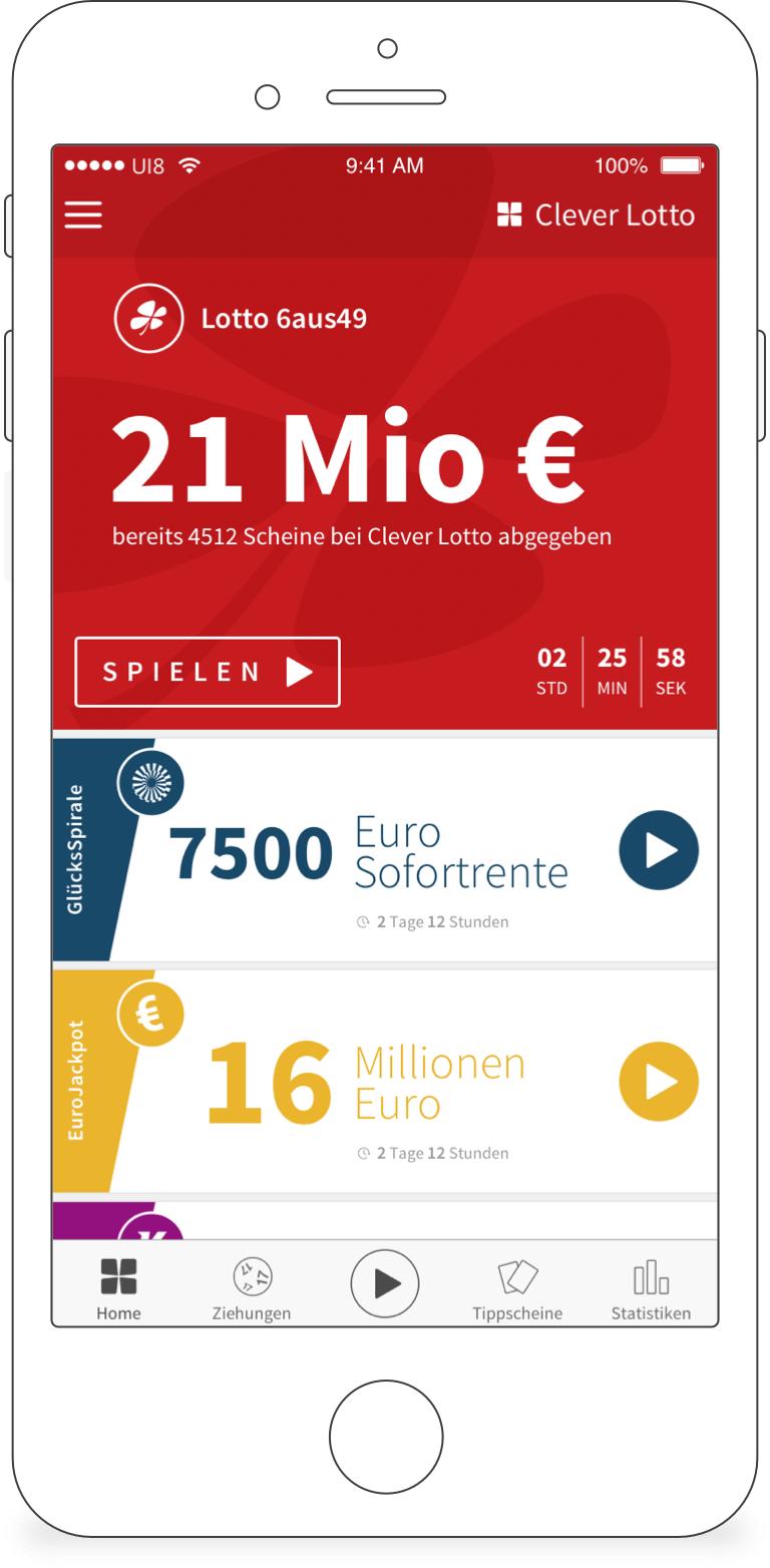 5€ Gratis Lotto spielen bei Clever Lotto