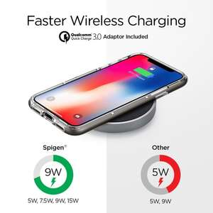 Spigen Fast Wireless Charger - iOS Android - F306W @Amazon.de