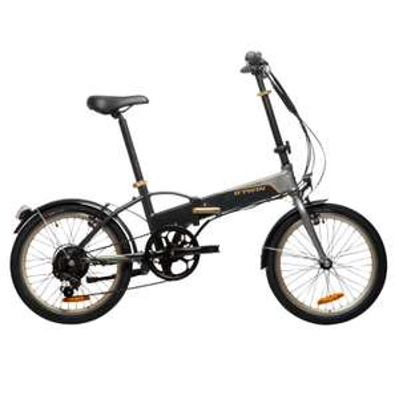 "[DECATHLON] E-Bike 20"" Faltrad Klapprad Hoptown 500 Samsung 144Wh Heckmotor B'TWIN"