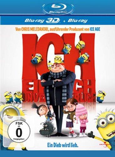 Ich - Einfach unverbesserlich (3D Blu-ray + Blu-ray) für 6,97€ (Dodax)