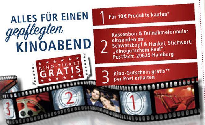 [real] Gratis Kino-Gutschein beim Kauf von Fa-/Schauma-Produkten im Wert von 10€
