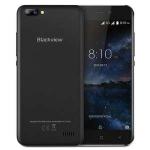 Blackview A7 5.0-Inch Android 7.0 1GB RAM 8GB ROM MT6580A Quad-Core 1.3GHz 3G Smartphone (kein Band 20)