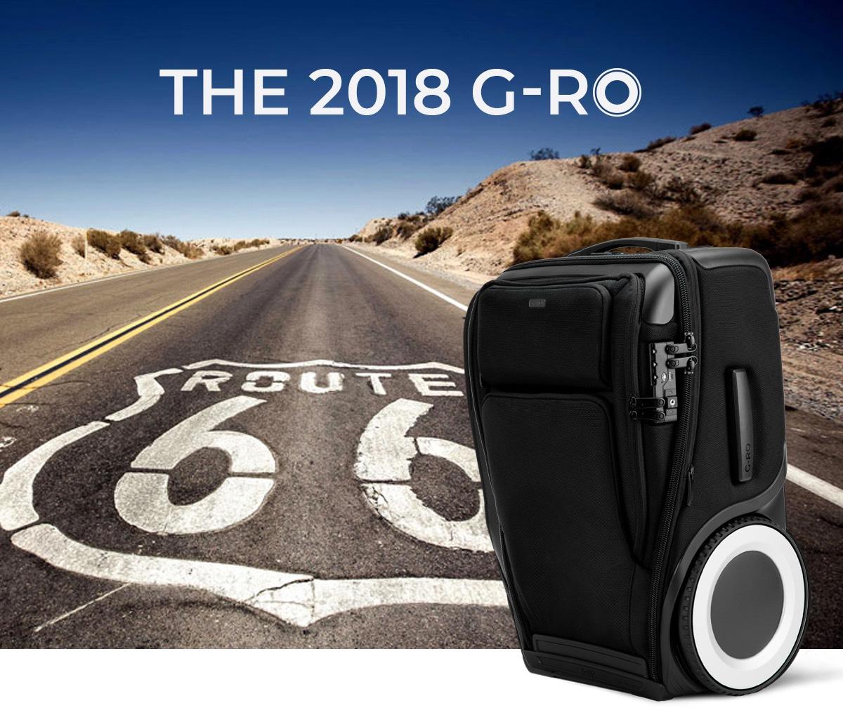 50$ Rabatt auf die 2018er G-Ro Trolleys mit Gutscheincode GR201850 bis 01.04.2018
