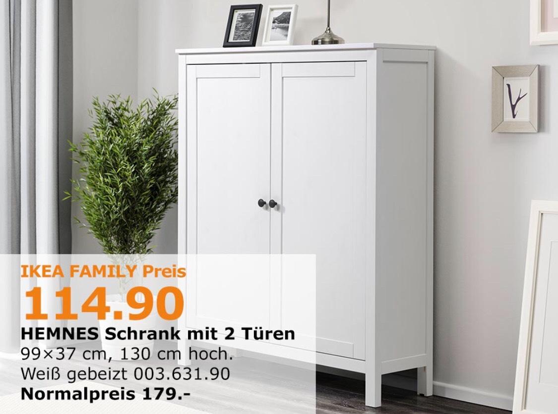 LOKAL: Ikea Sindelfingen Family: HEMNES Schrank