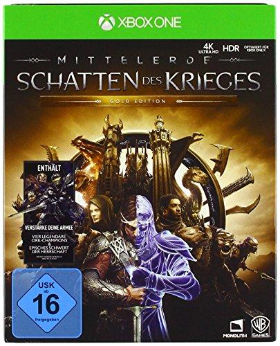 Mittelerde: Schatten des Krieges Gold Edition (Xbox One) für 33€ & (PC) für 25€ + 5 für 3 Aktion (Amazon)