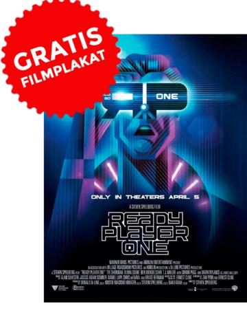 """[Cinestar] Gratis Filmplakat beim Kauf von Tickets zu """"Ready Player One"""""""