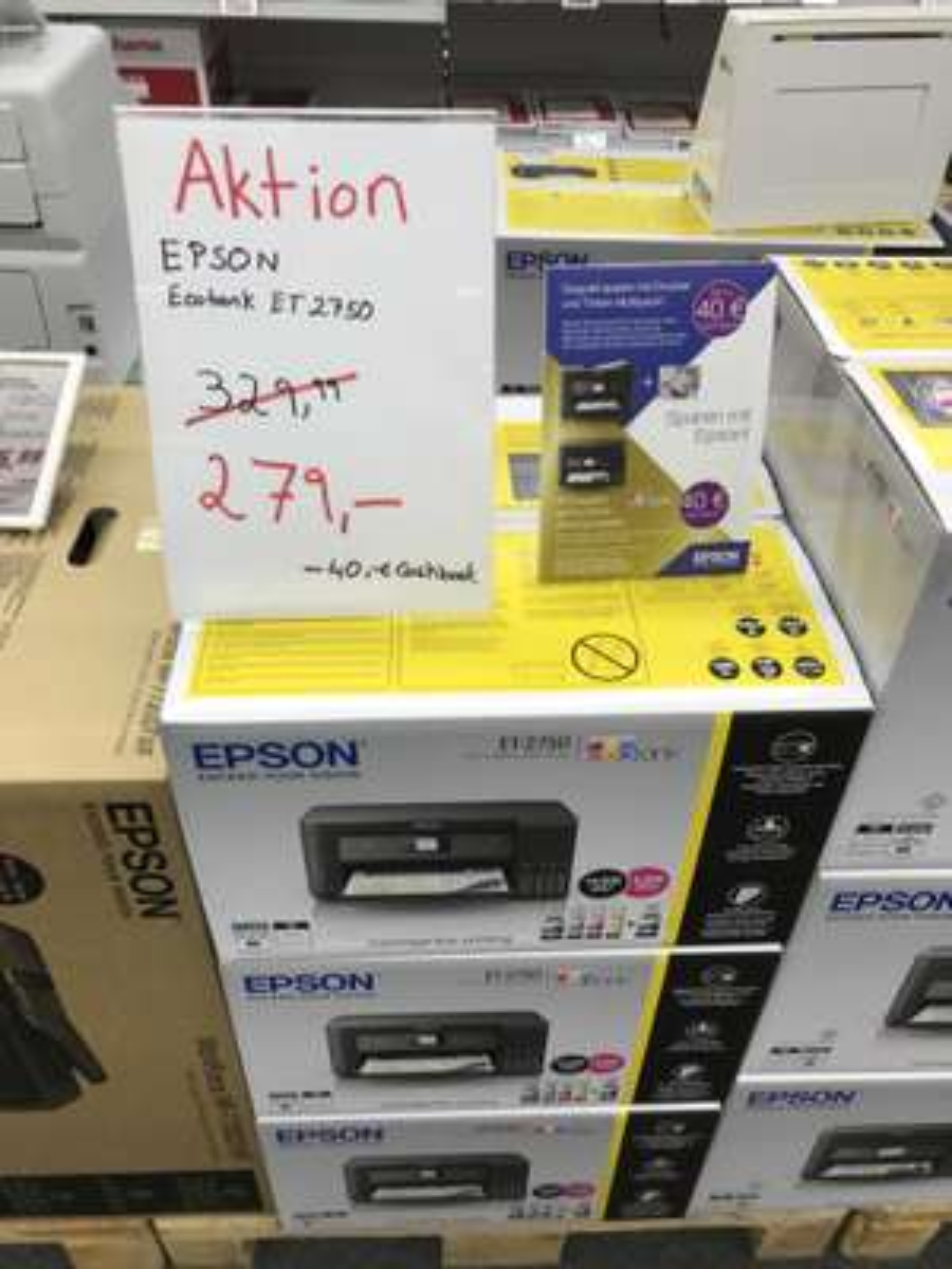 [Lokal HD] Epson EcoTank 2750 OsterAktion + 40€ Cashback