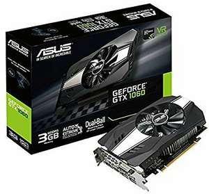 Asus GeForce GTX 1060 Phoenix 3 GB (Amazon.fr)