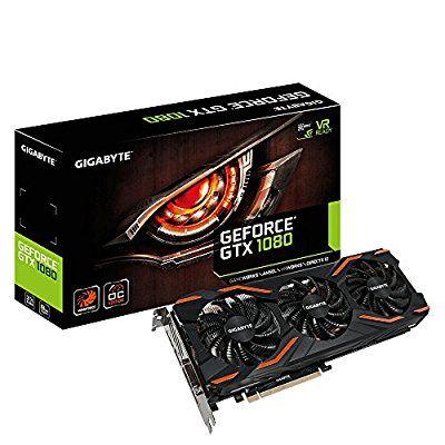 Gigabyte GeForce GTX 1080 GV-N1080WF3OC-8GD Grafikkarte 8GB schwarz