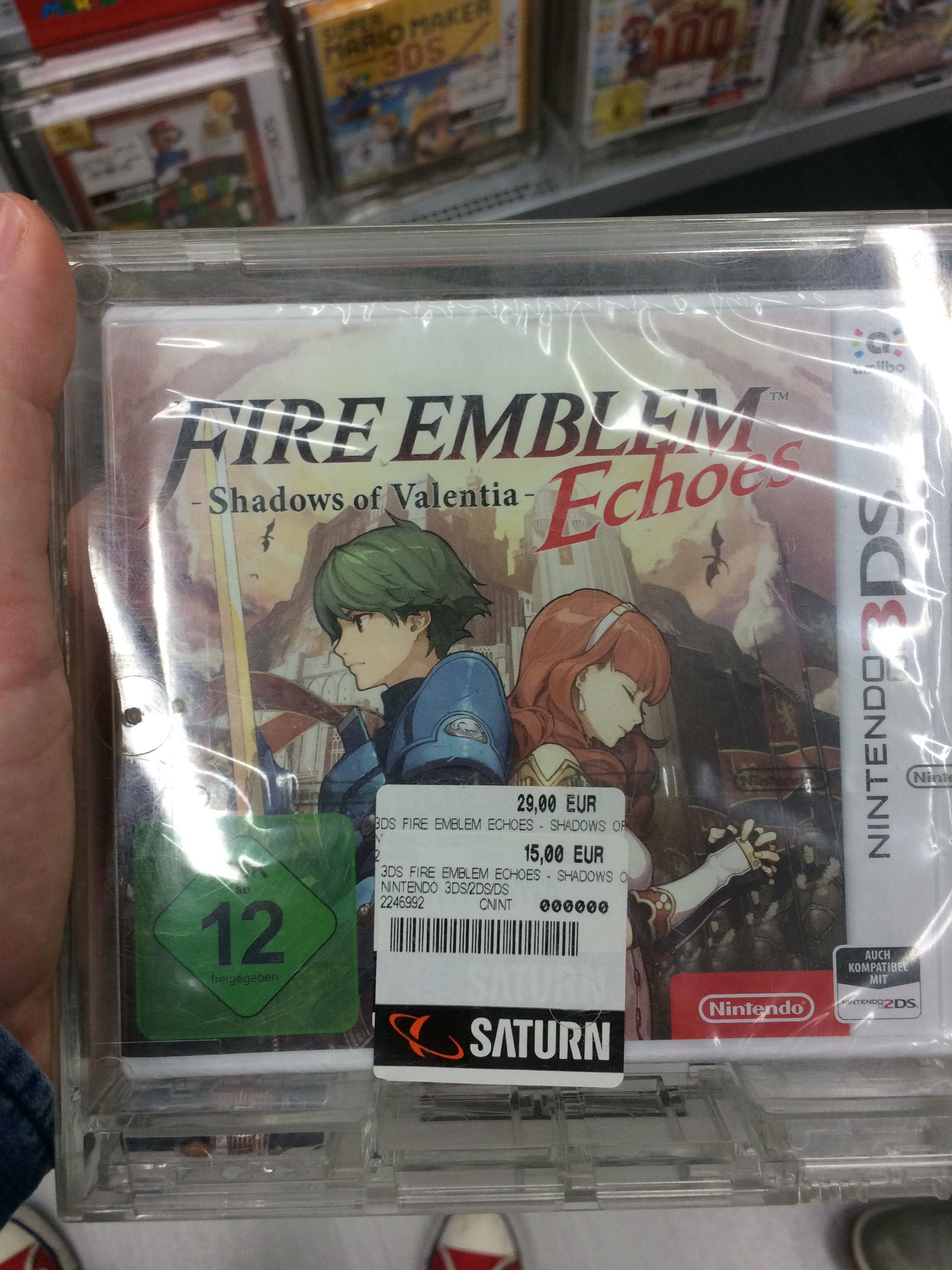 [Lokal Saturn Duisburg] Fire Emblem Echoes 3DS