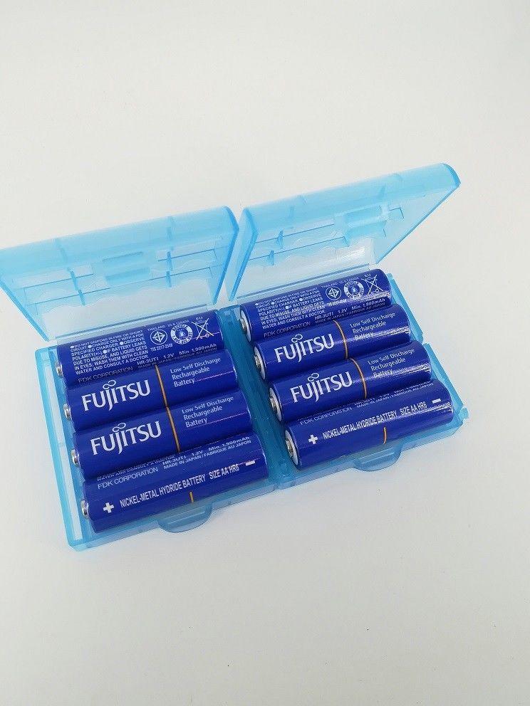 [ebay] 8er Pack FUJITSU HR3-UTI Mignon Akkus Typ AA  2000 mAh (Eneloop Konkurrent) mit 2x Akkuboxen VSK frei