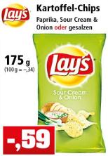 Lay's Chips versch. Sorten 175g [Thomas Philipps ab 03.04.18]