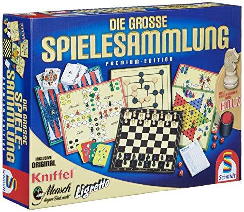 Schmidt Spiele 49125 - Die große Spielesammlung 22,55 Euro Amazon