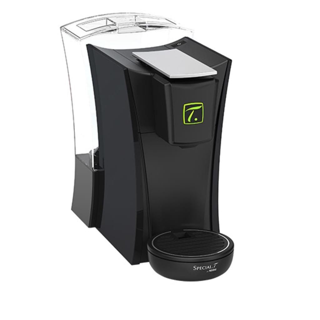 Nestle Special.T Mini.T Black, Kapselmaschine inkl. 10er Kapselpack & Wasserfilter