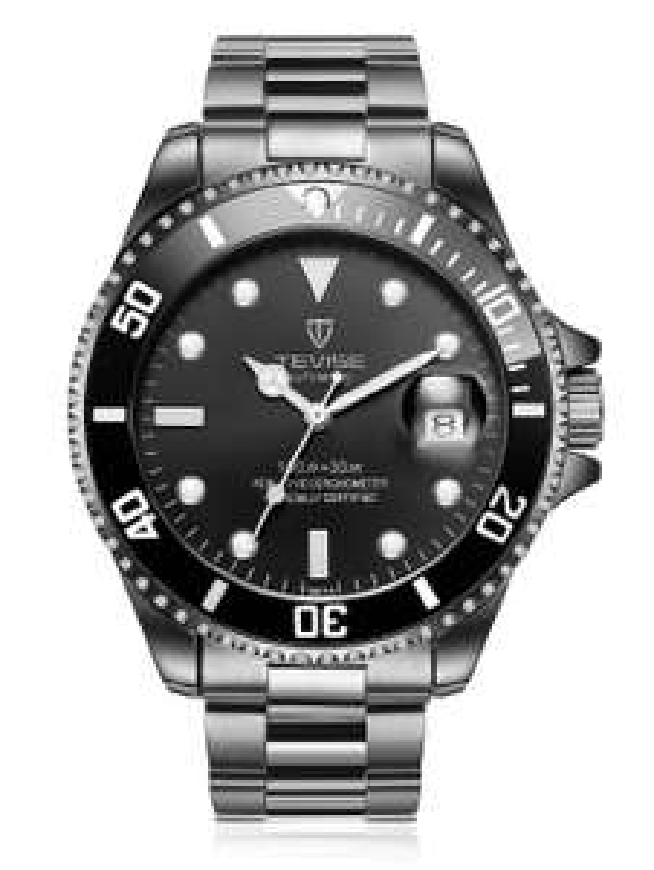 Analog Uhr: Tevise T801A Mechanische Edelstahl Armbanduhr