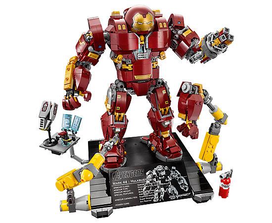 Hulkbuster Age of Ultron (+ Lego Minifiguren Fabrik als Beigabe ab. 02.04.2018)