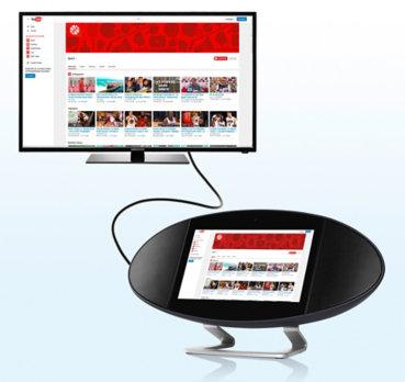 Medion Media Base P7401, Soundbase, 17,8 cm (7″) nur 79,95 (statt 99,95)