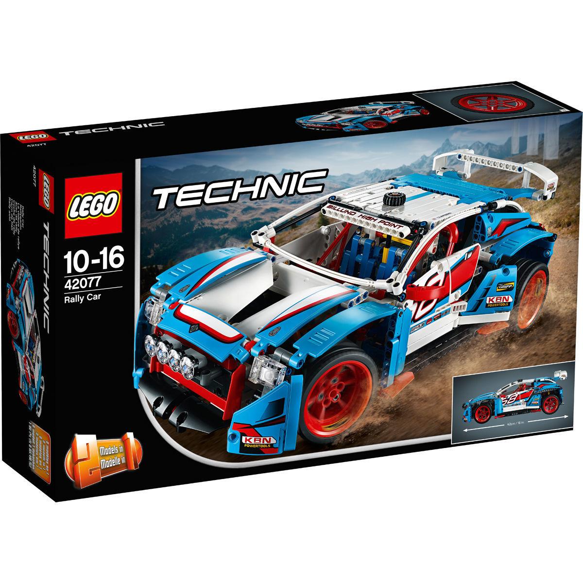 LEGO® Technic 42077 Rallyeauto für 64,99€ [Karstadt]