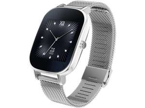 ASUS ZenWatch 2 Smart Watch Metall, 113 mm, Silber für 99€ bei Media Markt