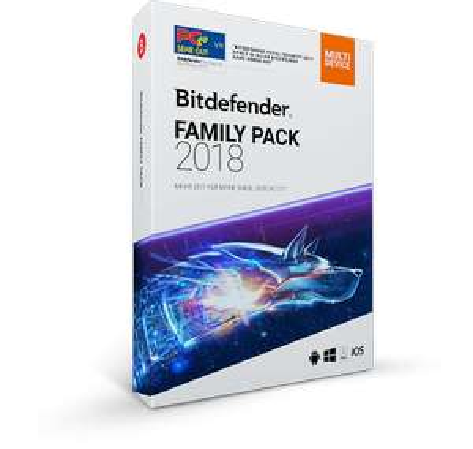 Bitdefender Family Pack 1 Jahre/ 20 Geräte für 39 €