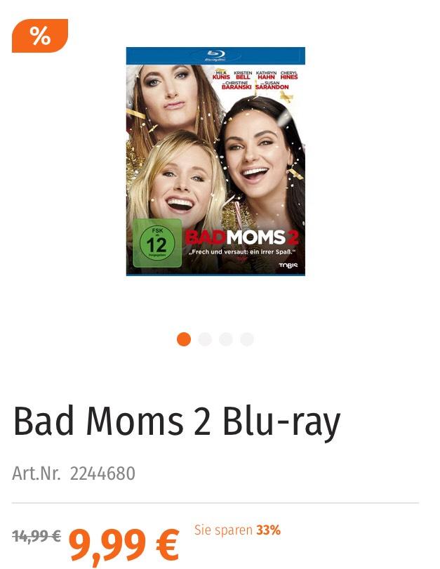 Müller Sonntagsangebot Bad Moms 2 Blu-ray