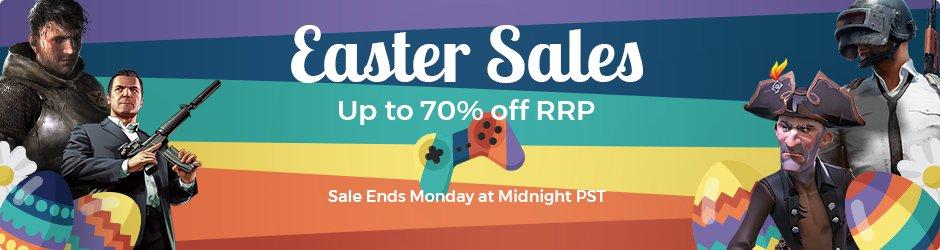 Sammeldeal: Easter-Deals bei [CDKeys] - z.B. Rocket League für 5,93€, Forza Horizon 3 + Hot Wheels DLC für 19,47€, PES 2018 für 6,47€ & PUBG für 18,31€