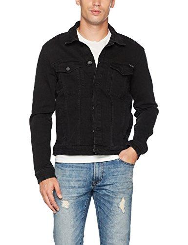 Calvin Klein Jeans Herren Jeansjacke schwarz NUR in XL für 46,61