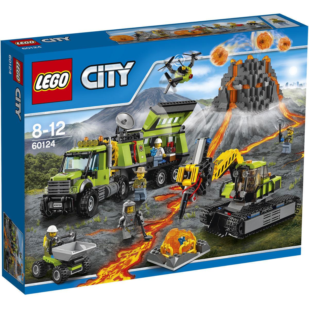 LEGO-City-60124-Vulkan-Forscherstation
