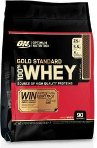 Optimum Nutrition Gold 100% Whey - Vanille (2740g) - Kilopreis 15,55€
