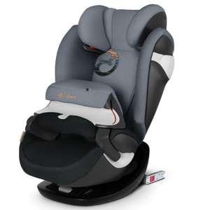 cybex GOLD Kindersitz Pallas M-fix Pepper Black-dark grey - Gruppe 1/2/3, 9 bis 36 kg, ab ca. 9 Monate bis 12 Jahre