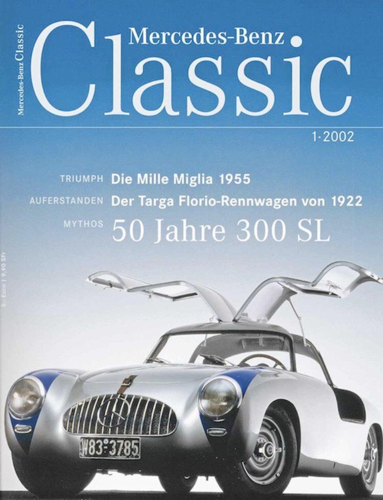 Gratis Probe-Exemplar des Mercedes-Benz Classic Magazins