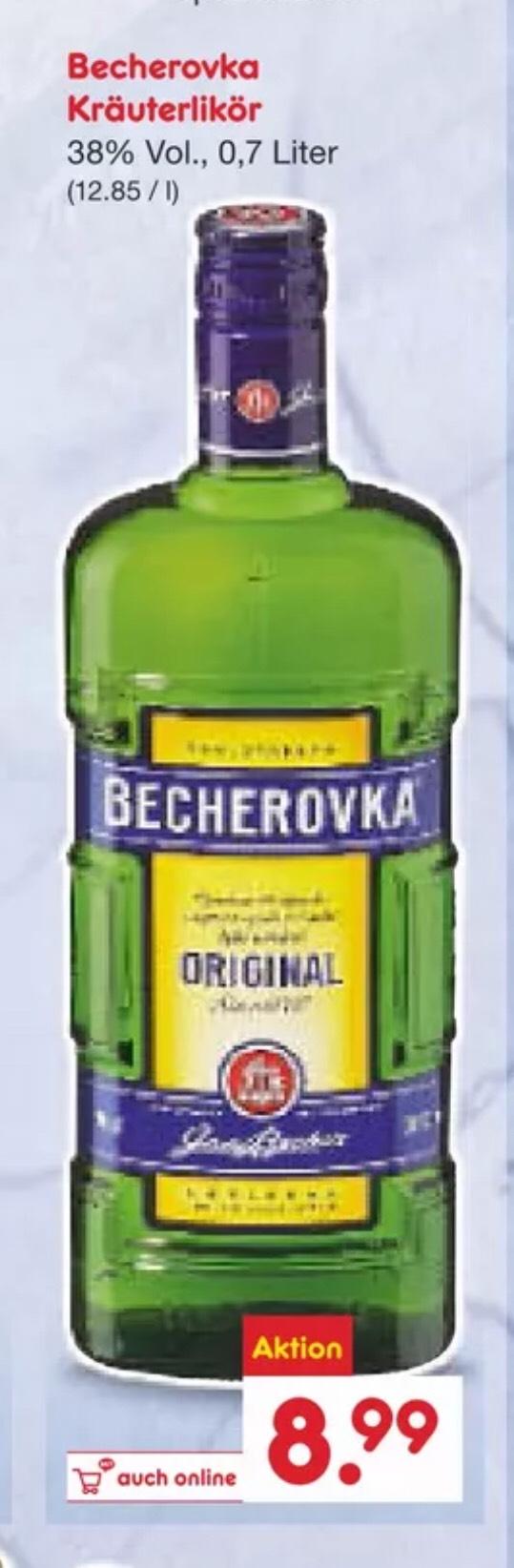 [Netto] Becherovka 0.7l - tschechischer Kräutergenuss