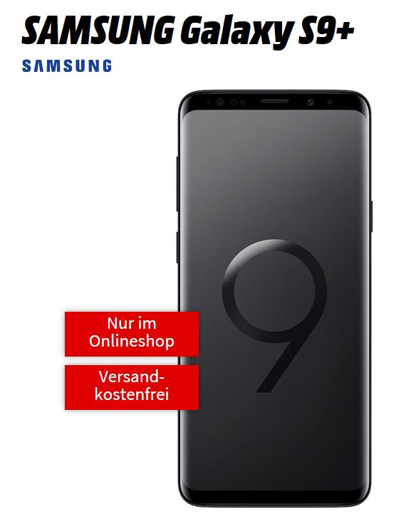 O2 Blue All-in L 6 GB LTE Samsung Galaxy S9 Plus für einmalig 29 € und 34,99 monatlich