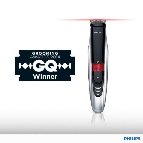 Philips Präzisions-Bartstyler mit Laser-Technologie BT9290/32, 9 Watt, 17 Schnittlängen