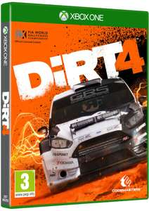 Dirt 4 (Xbox One) für 16,44€ (Zavvi)