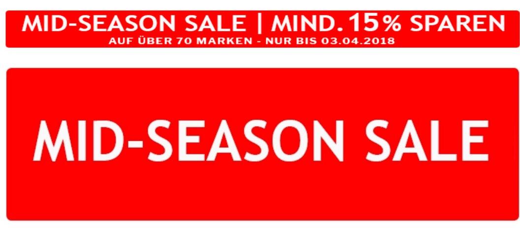Koffer-Profi MID-SEASON Sale mind. 15% auf über 70 Marken z.B. 20% Rimowa + 5% Vorkasse