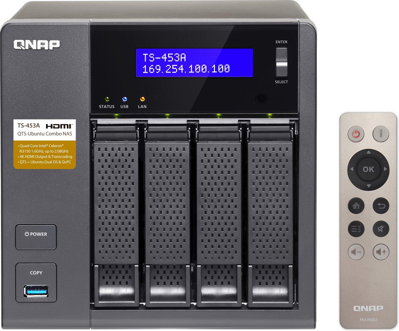 Sammeldeal NAS-Angebote bei Mediamarkt Österreich - z. B. QNAP TS-453A-4G 4 Bay Desktop NAS Gehäuse mit 4GB RAM für 414€