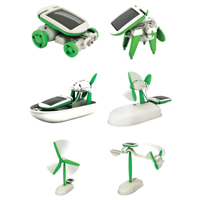 6 in 1 Solar-Spielzeug für 2,03€ inklusive Versand