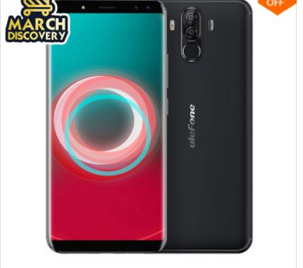 Ulefone Power 3S 6.0 Zoll 6350mAh Gesicht ID 4 GB RAM 64 GB ROM MT6763 Octa Kern 4G Smartphone