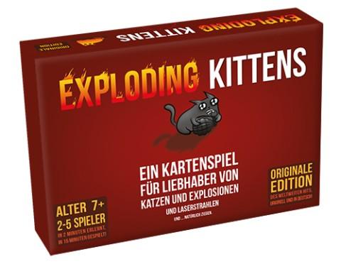 Exploding Kittens Kartenspiel *Deutsche Version*