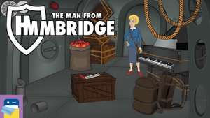 The Man from Hmmbridge für Apple iOS - klassisches Point&Click Adventure aktuell Gratis statt 2,39€