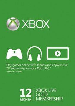 12 Monate Xbox Live für 34,89 Euro (+4% Shoop.de)