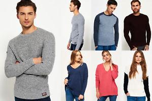 Neuer Superdry für Männer und Frauen Pullover Versch. Modelle und Farben
