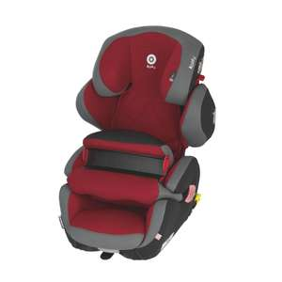 Kiddy Kindersitz Guardianfix Pro 2 in rot oder schwarz
