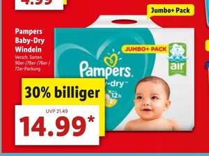Lidl Pampers Baby-Dry