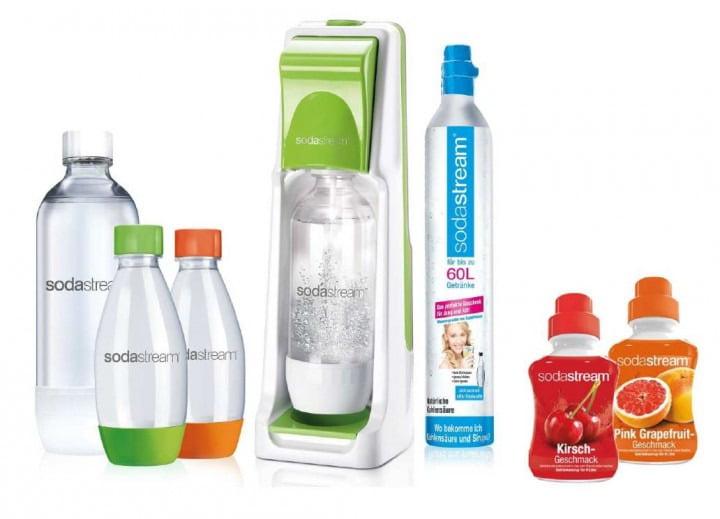[Comtech] Sodastream Cool Super-Spar-Pack, grün - inkl. VSK
