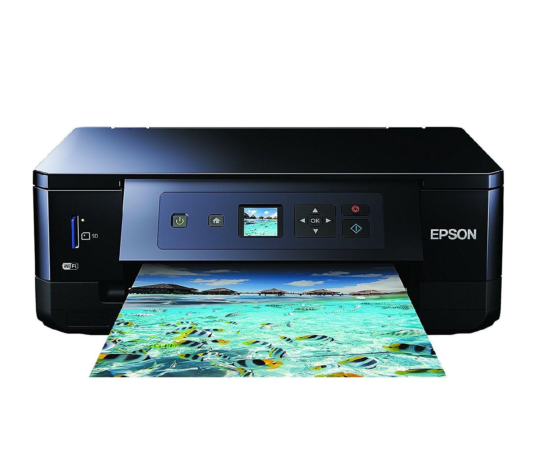 Epson Expression Premium XP-540 3-in-1 Tintenstrahl-Multifunktionsgerät (Drucker, Scanner, Kopierer, WiFi, Duplex, Einzelpatronen) schwarz [Amazon]