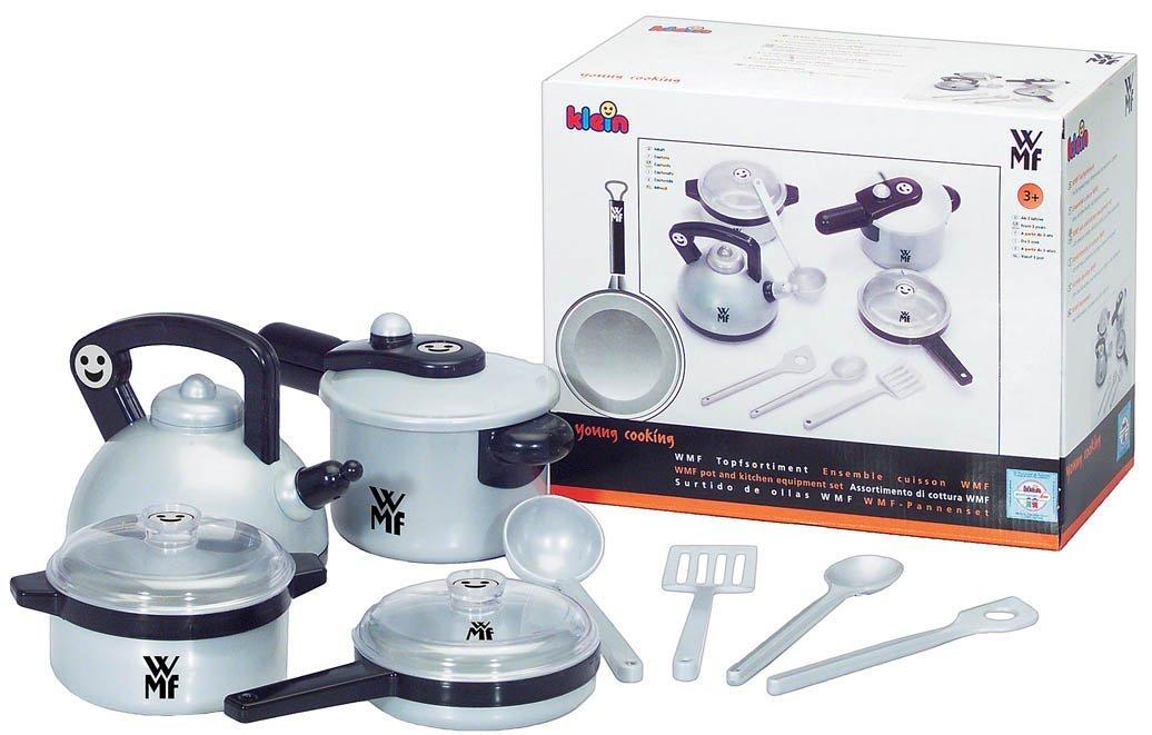 Theo Klein 9430 - WMF Topf-Set für die Kinderküche, Spielzeug 7,99 Euro bei Amazon